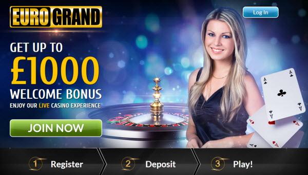 eurogrand bonus casino