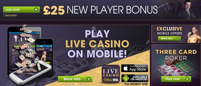williamhill casino bonuses blog