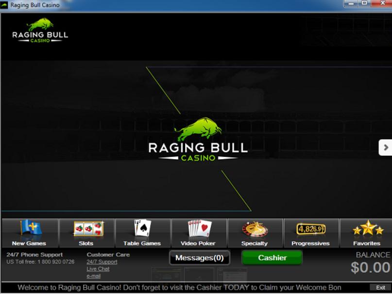 Raging Bull Casino Review - Raging Bull™ Slots & Bonus | ragingbullcasino.com