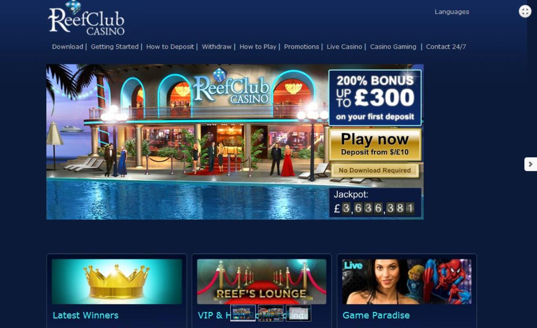 Club reef casino near soboba casino