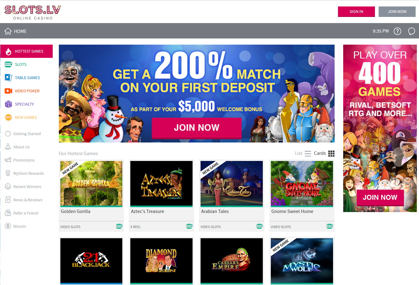 Next Casino Review – Get a €200 Deposit Bonus