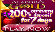 AladdinsGold casino bonus