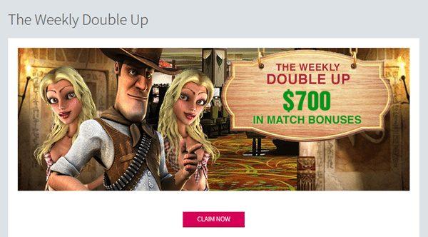 double up bonuses slots lv