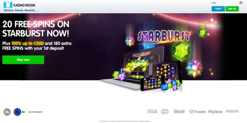 Casinoroom new freespins