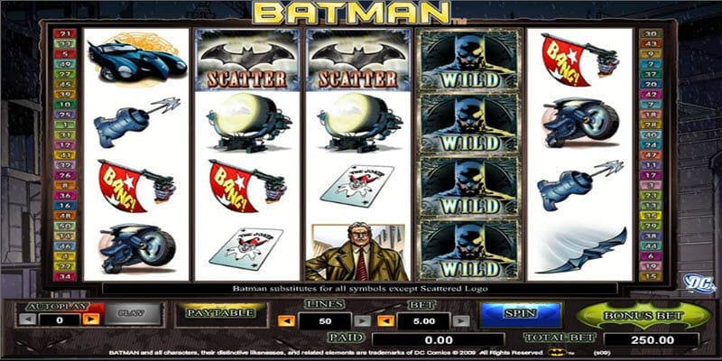 Batman Video Slot Game for Real Money - NYX Gaming