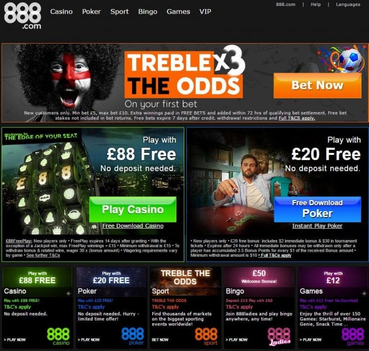 888 casino bonus codes