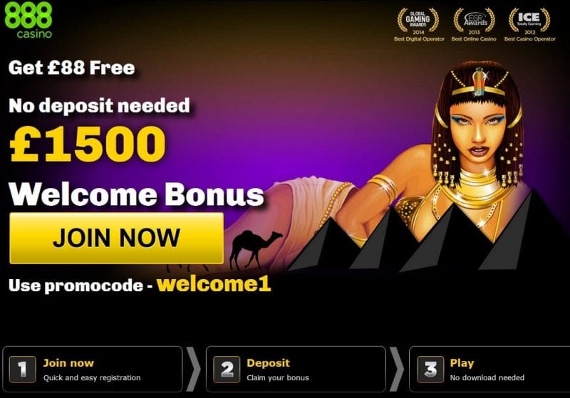 new casino on line