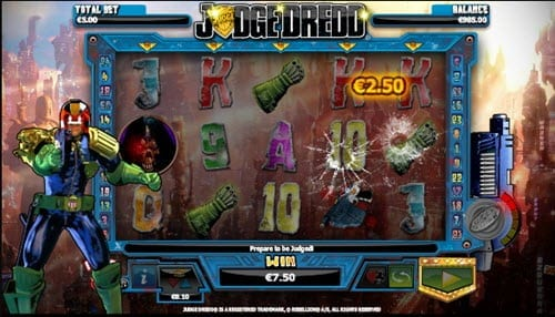 Judge Dredd Slot EuroMoon casino free demo game