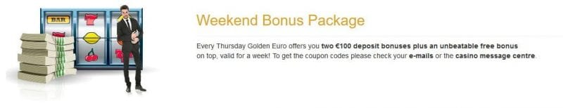 golden euro casino bonus welcome bonus