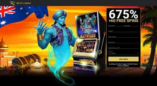 rich casino australia bonus