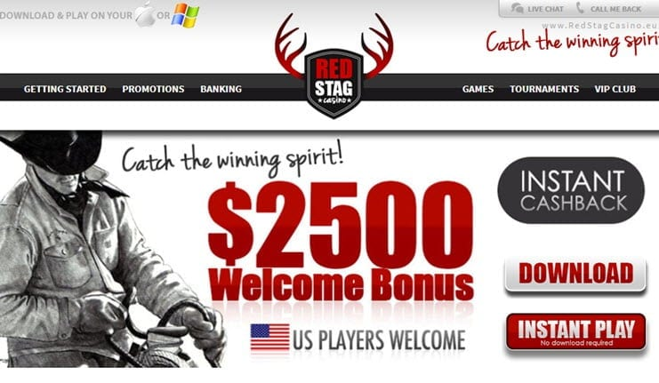 review red stag casino online