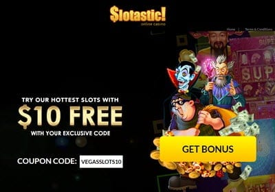 Slotastic 10 Free Spins Code