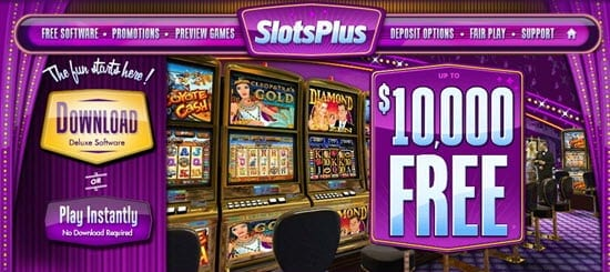Slots Plus Casino New Bonus