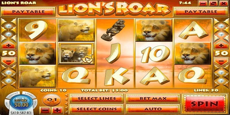 lion road slots lv