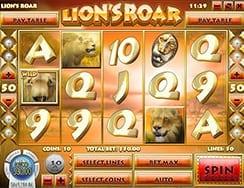 lions roar slots winners