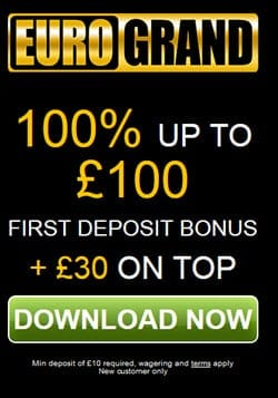 100% up to 100 eurogrand