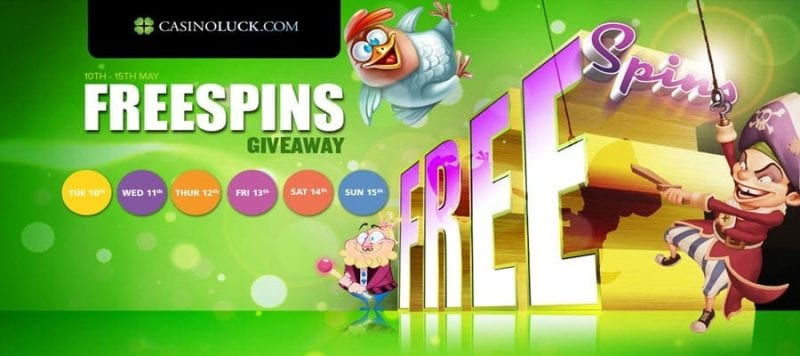 luckfree spins casino on line