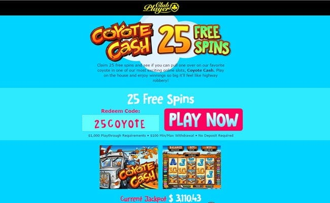 club players casino bonus codes