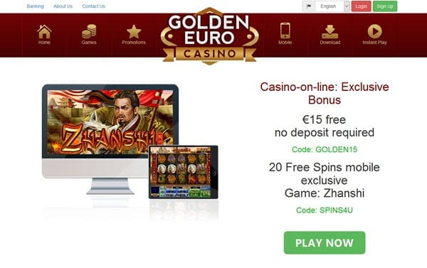 golden euro casino bonus codes 2019
