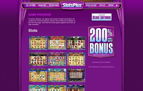 25+ Line Slots | Up to $/£/€400 Bonus | Casino.com