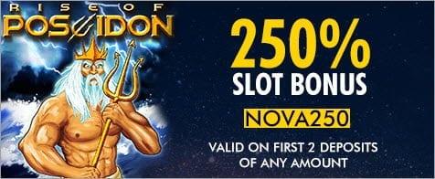 SuperNova Casino Slots Bonus