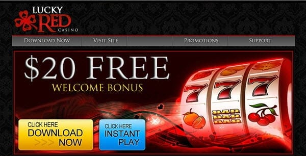 lucky red casino 20 free no deposit