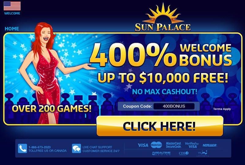 sunpalace-casino on line 400bonus