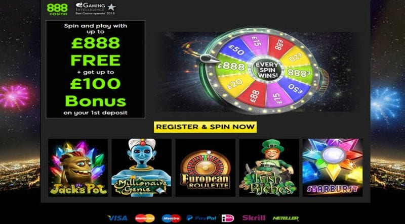 Wheel of fortune 888casino
