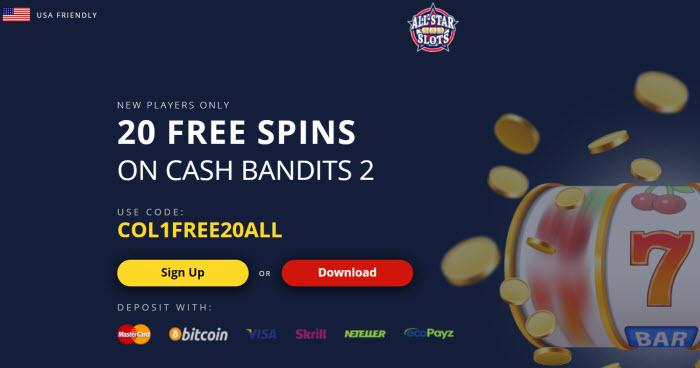 All Star Slots Casino No Deposit Bonus Codes 2020 20 Free Spins Here