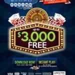 vegas casino online welcome bonus upto $300