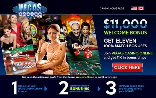 vegas casino online welcome bonus