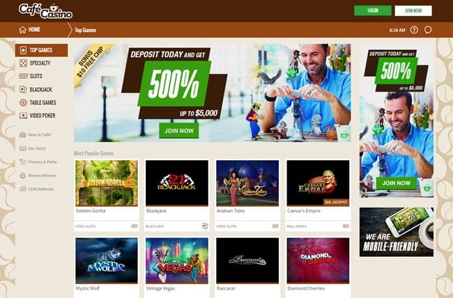 Café Casino Review – IS CafeCasino.lv A Trustworthy Site?