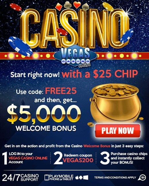 bonus online casino hot casino