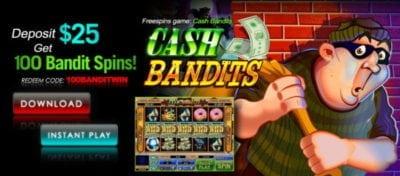 cash bandits bonus sloto cash casino