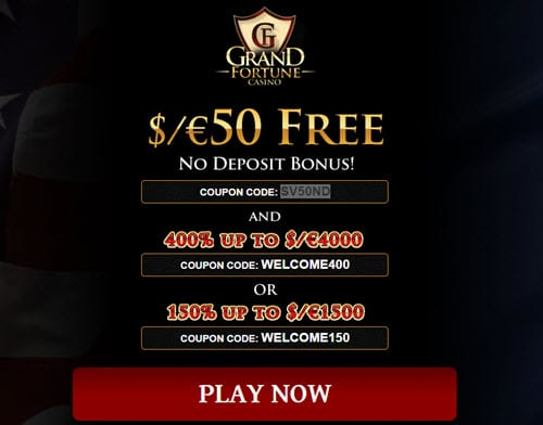 Free play used for slot machine play
