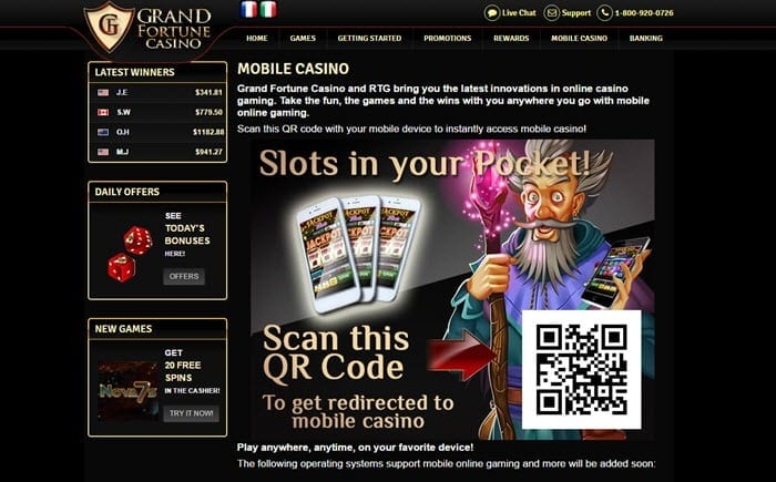Grand Fortune Casino No Deposit Bonus Codes 2020 Get 50 Free