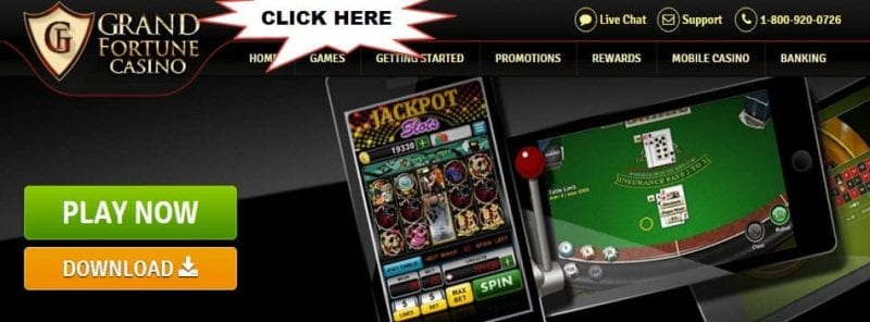 GranFortune Casino deposit