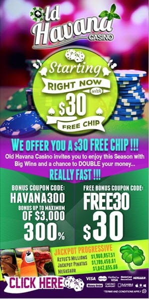 old havana casino no deposit codes