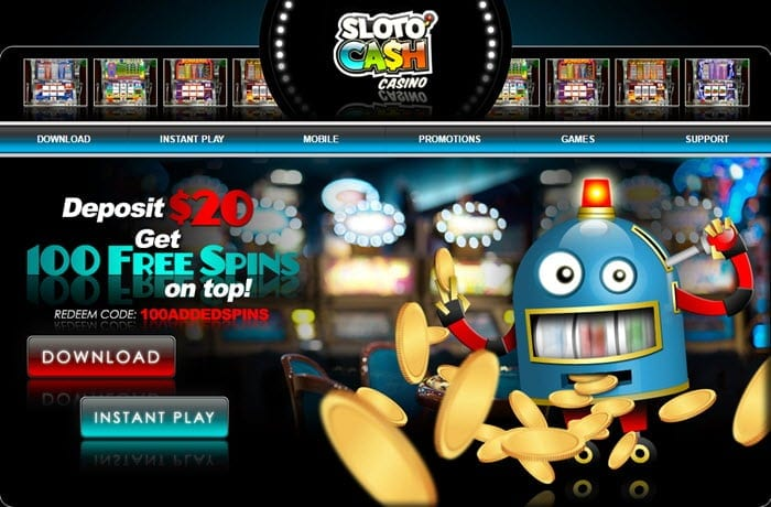 Sloto cash casino no deposit carnival gambling policy