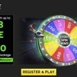 888casino wheel of fortune bonus £888 Free