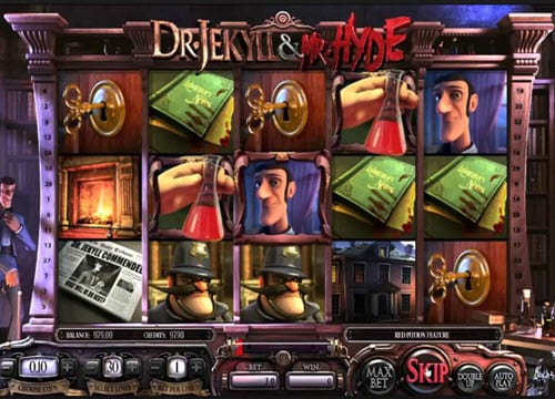 Dr Jekyll and Mr Hyde Slot