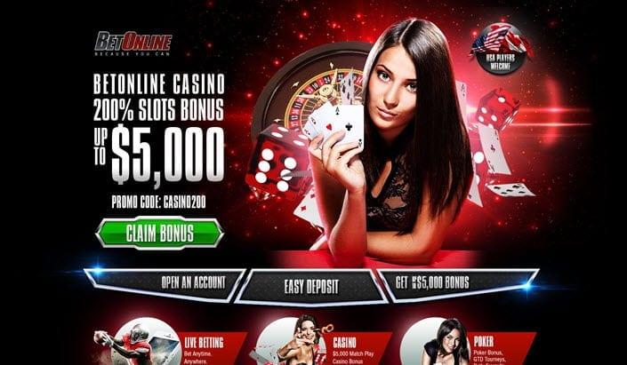 betonline casino slots bonus