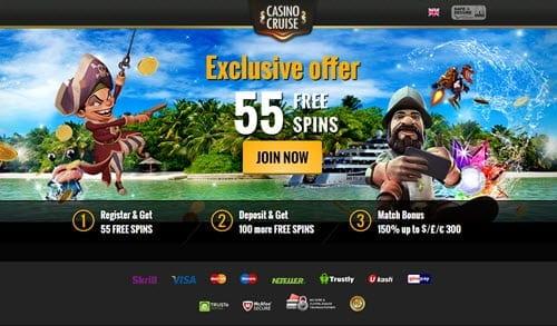 casino cruise bonus codes