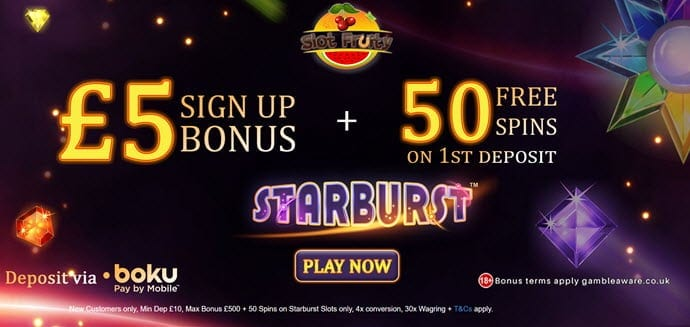 slot fruity casino bonus no deposit