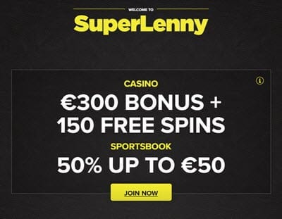 super lenny casino bonus codes