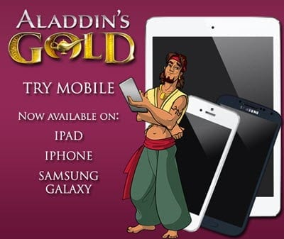 aladdins gold bonus mobile