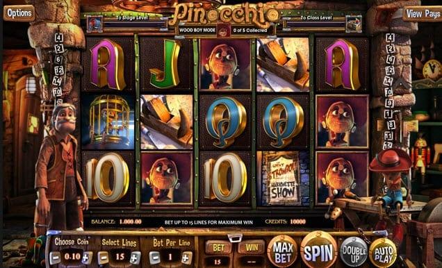 pinocchio slots