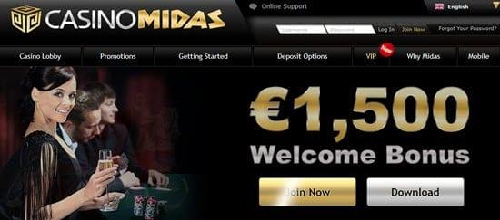 casino midas bonus codes