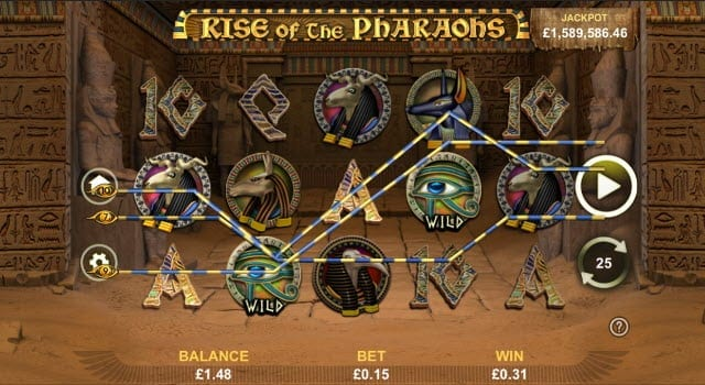 Rise of the Pharaohs Slot