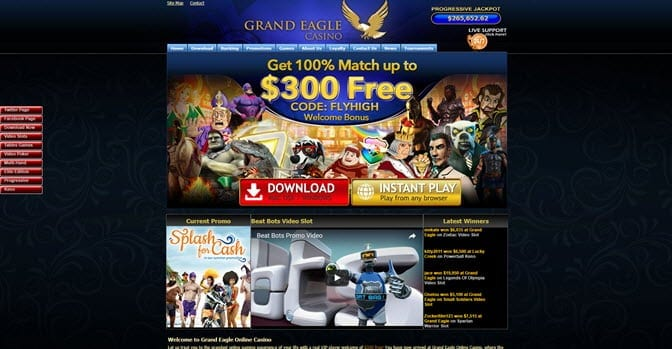 Grand Eagle Casino Bonus